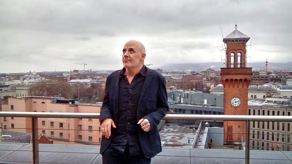 Conor Pope on terrace Irish Times
