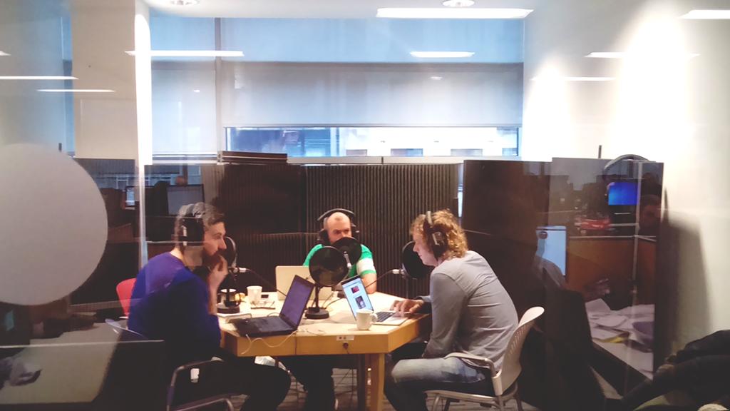 Radio show in live Irish Times