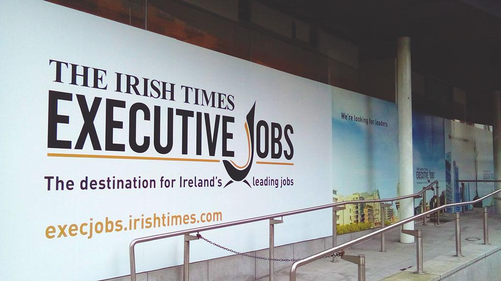The executive jobs Irish Times