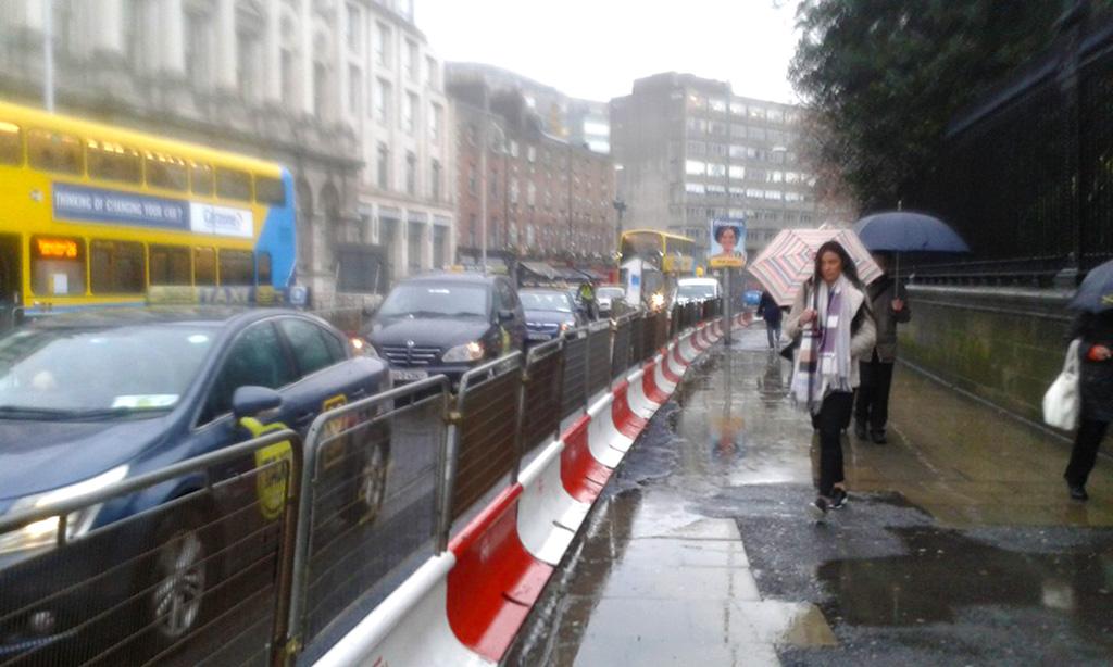 Rainy day in Dublin
