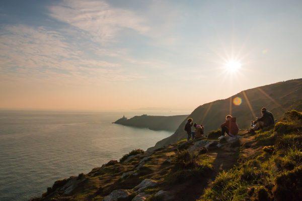Irska zalazak sunca